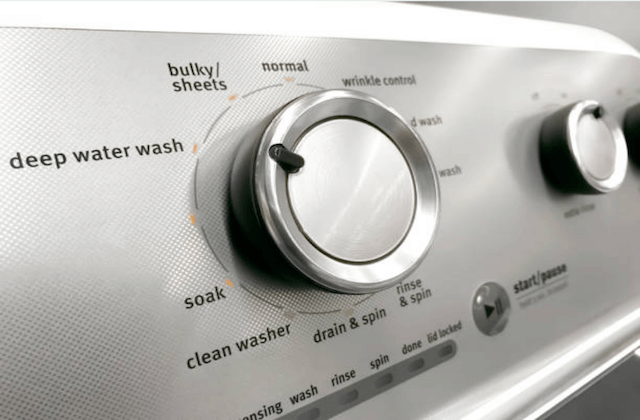 washer dryer controls